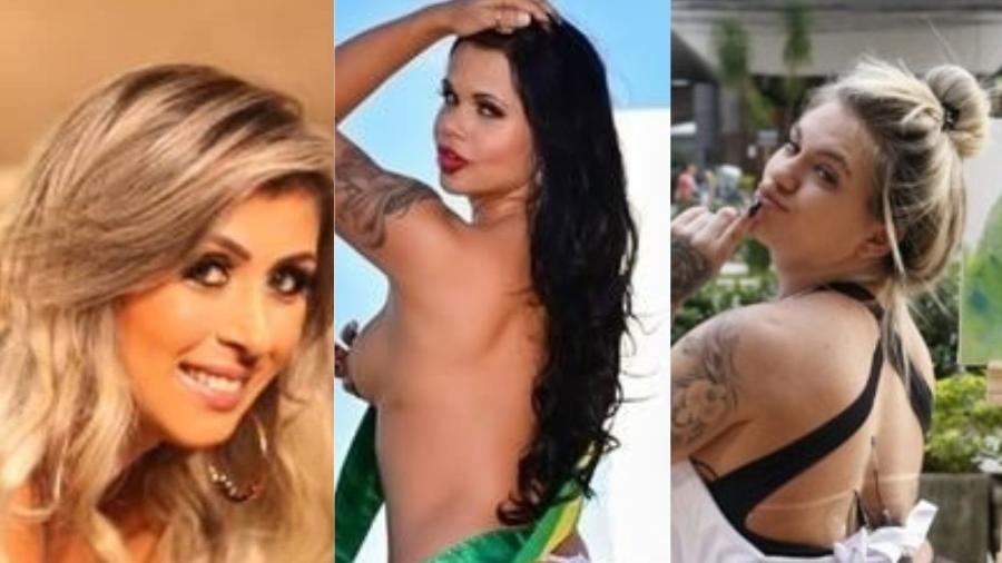 Ex-candidatas ao Miss Bumbum que causam fora do concurso - Montagem/UOL
