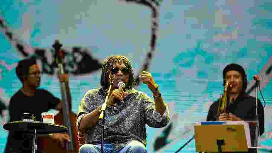 Milton Nascimento canta no primeiro dia do Festival Virada Salvador 2019 - João Alvarez/UOL