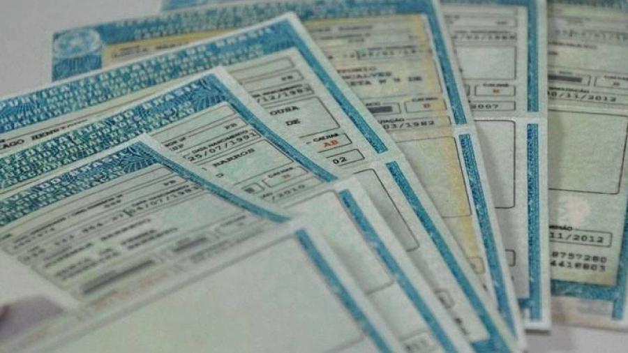 Carteira Nacional de Habilitação (CNH) - Divulgação