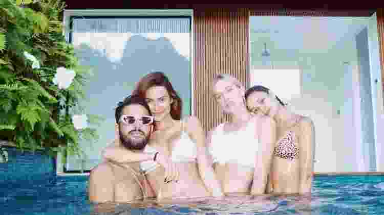 Thaila Ayala, André Nicola, Fiorella Mattheis e Sophie Charlotte - Reprodução/Instagram - Reprodução/Instagram