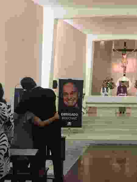 Familiares e amigos se reúnem em missa da morte de Ricardo Boechat no Rio - Marina Lang/UOL - Marina Lang/UOL