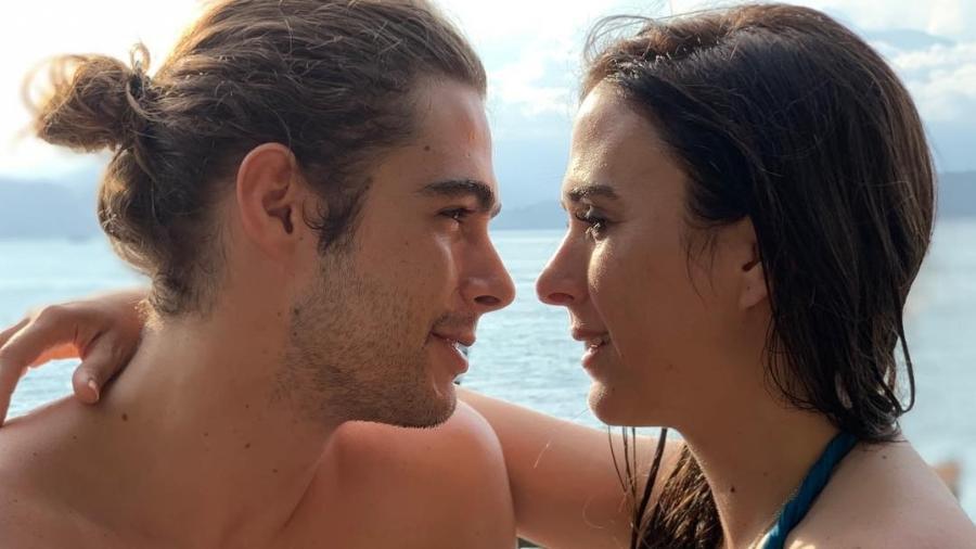 Rafael Vitti e Tatá Werneck, que está indo para 2 meses de gravidez - Reprodução/Instagram