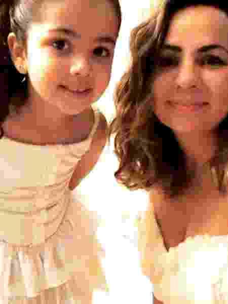 Patrícia e a filha Maya, de 6 anos - Reprodução/Instagram