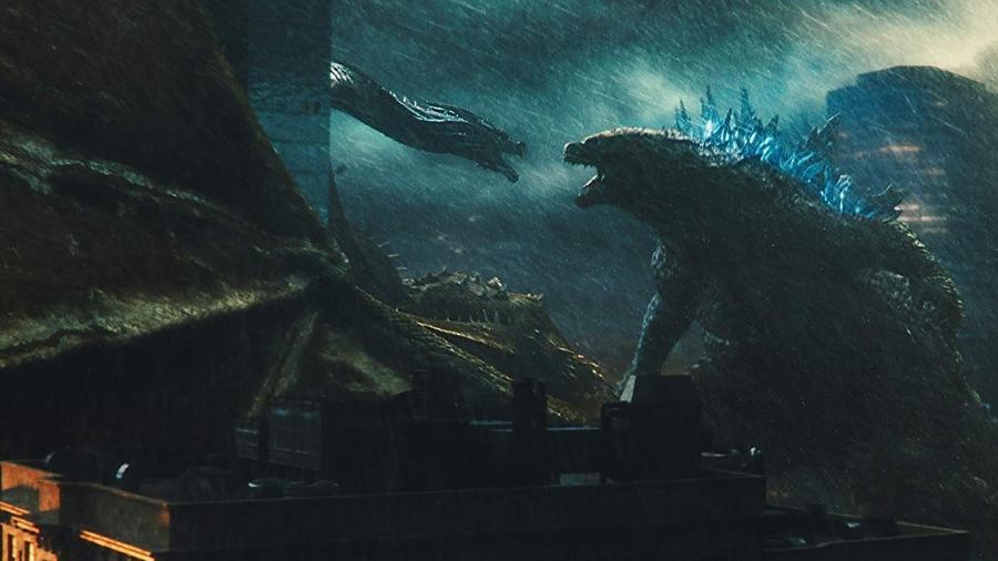 """Cena de """"Godzilla 2: Rei dos Monstros"""" - Divulgação"""