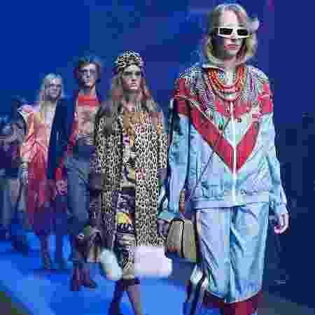 Desfile da coleção-cápsula verão Gucci 2018 - Divulgação - Divulgação