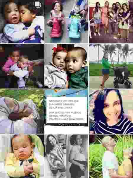 Agora, rede social é repleta de fotos de Helena e Samuel - Reprodução/Instagram