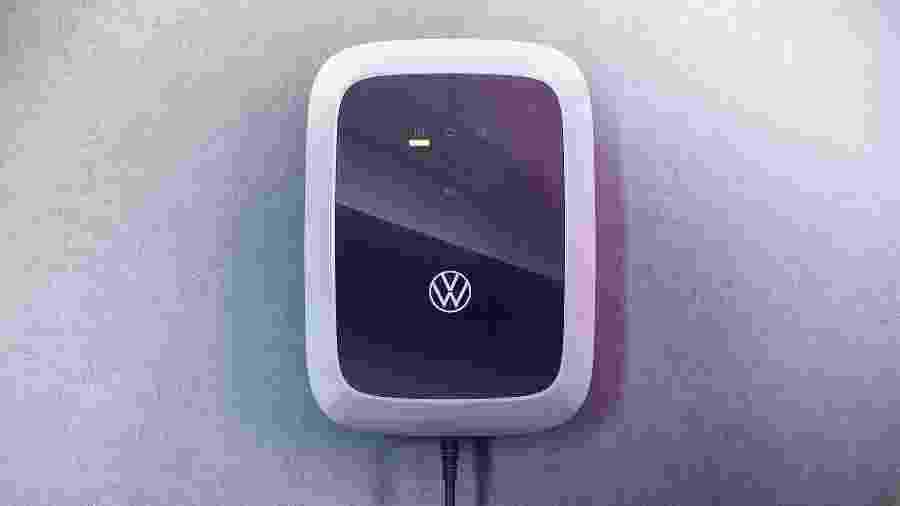 Carregador doméstico da Volkswagen chega em novembro à Europa com preço inicial de 400 euros - Divulgação