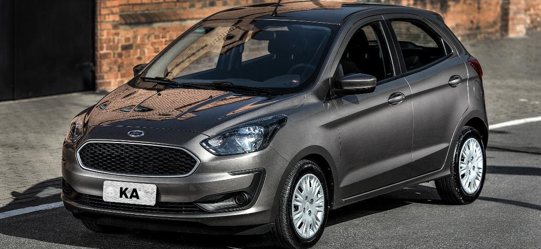 Ford Ka já deixou de ser fabricado e vai durar nas concessionárias apenas enquanto houver estoque; compacto teve mais de 67 mil emplacamentos no ano passado - Divulgação