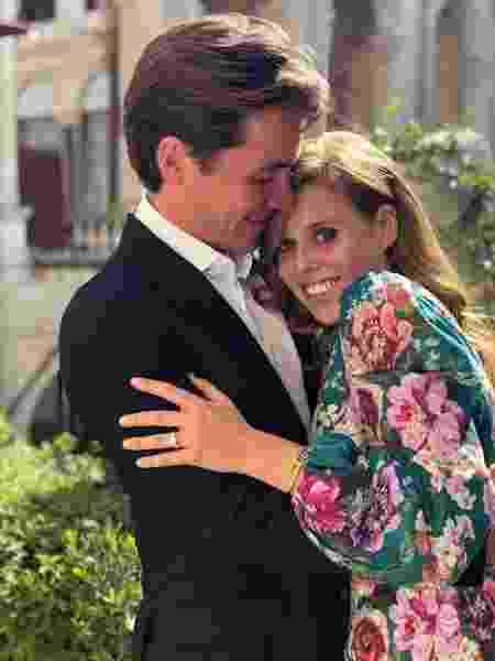 A princesa Beatrice e Edoardo Mapelli Mozzi - Reprodução/Instagram