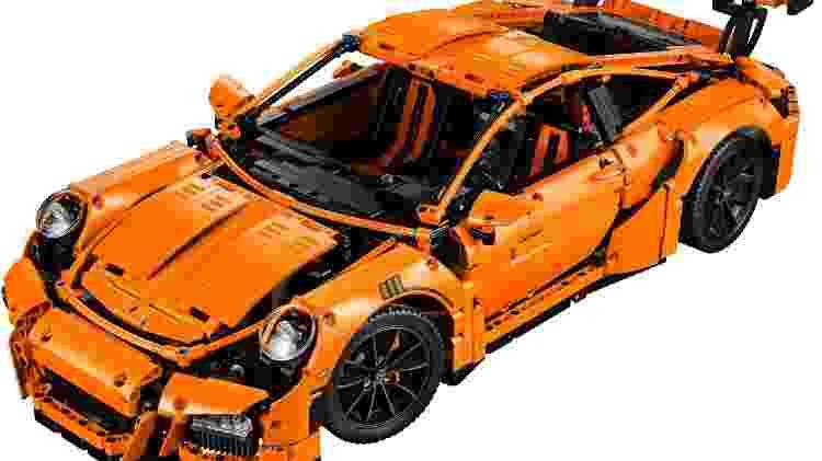 Kit do 911 GT3 RS possui várias partes funcionais, como a transmissão - Divulgação