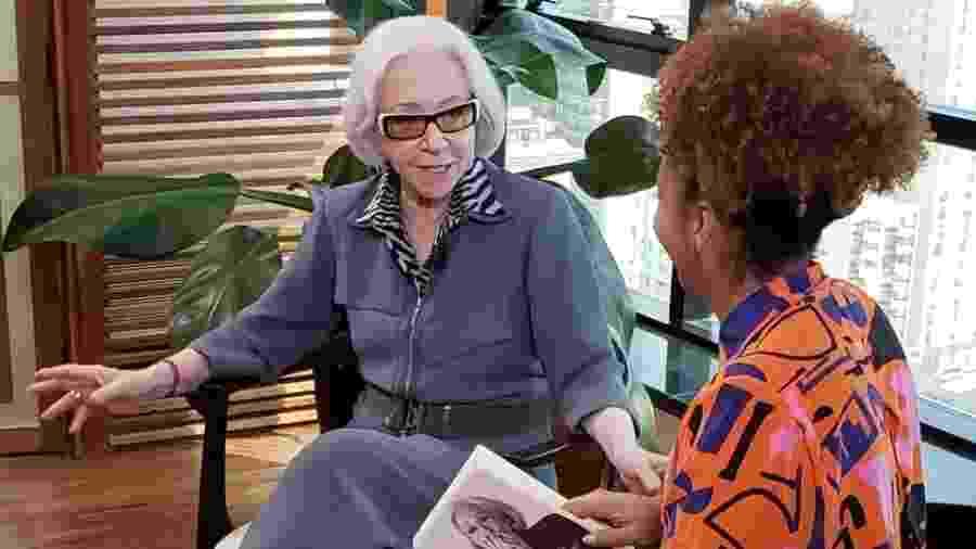 Fernanda Montenegro em sua entrevista com Adriana Couto - TV Cultura