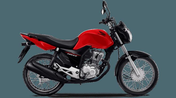 Honda CG 160 tem preço sugerido inicial de R$ 8.990 e é disparada a moto mais vendida do Brasil - Divulgação