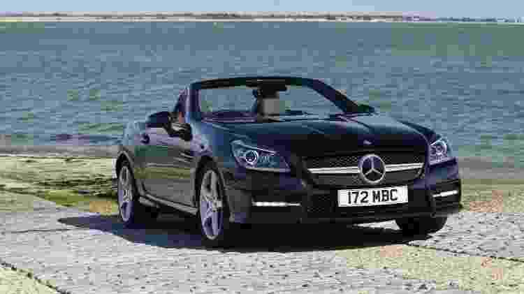 """Mercedes-Benz SLK 250 2013 com três """"sócios"""" pode sair por menos de R$ 50 mil para cada um - Divulgação"""