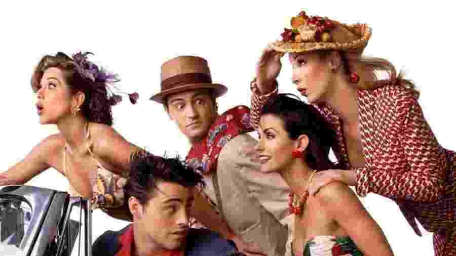 """Exibida originalmente entre 1994 e 2004, """"Friends"""" terá reencontro do elenco em especial da """"HBO Max"""" - Reprodução/Instagram"""