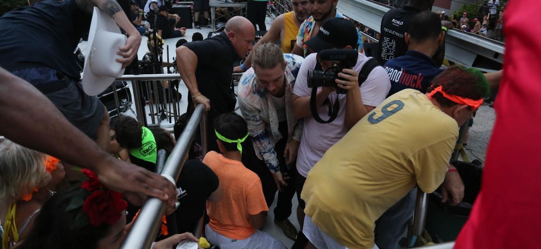 Diplo em bloco do Carnaval de São Paulo - Amauri Nehn/Brazil News