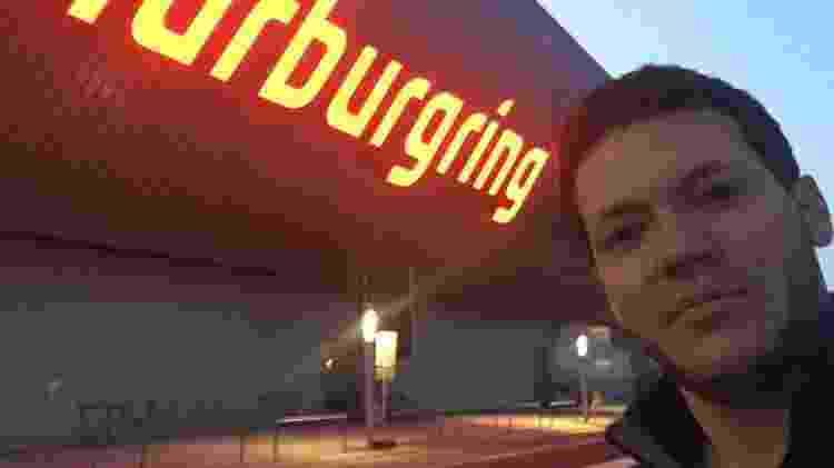 Leone em Nürburgring - Acervo pessoal - Acervo pessoal