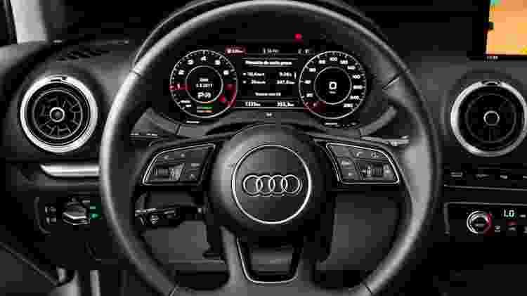 Audi A3 Sedan com Virtual Cockpit - Divulgação - Divulgação
