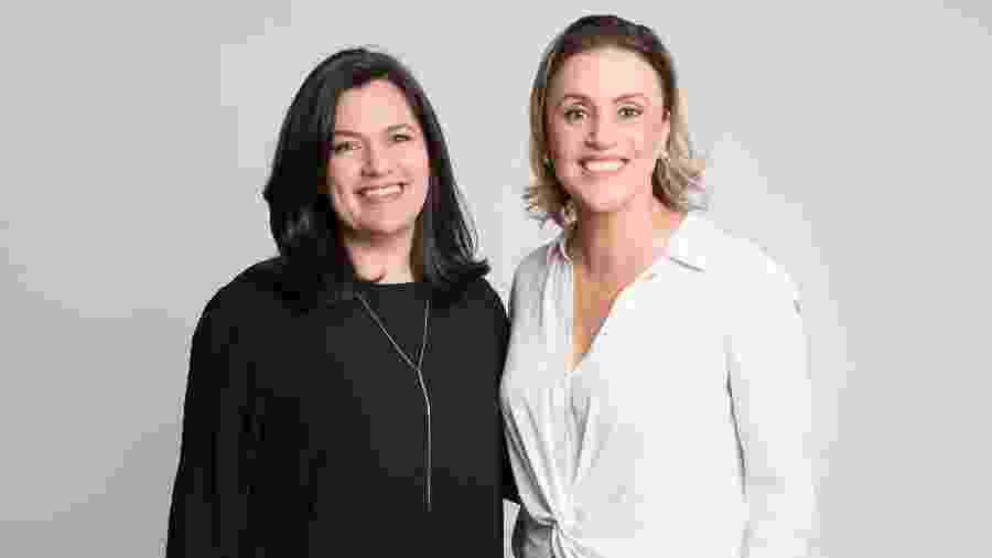 Larissa Mota e Luciana Guidi - Divulgação