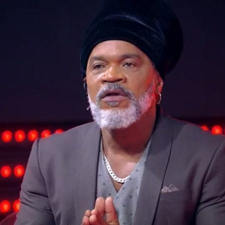 "Carlinhos Brown durante o ""The Voice Brasil"" - Reprodução/TV Globo"
