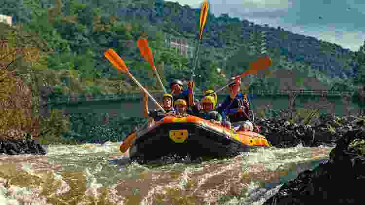 Rafting em Apiúna, em Santa Catarina - Getty Images - Getty Images