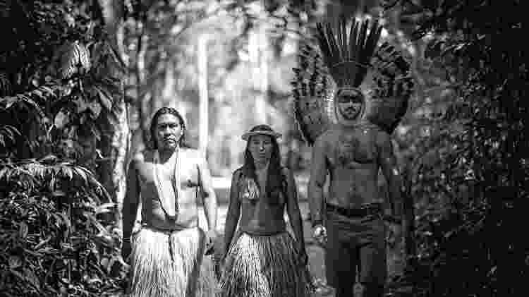Alok e indígenas - Érico Salutti/Acervo pessoal - Érico Salutti/Acervo pessoal