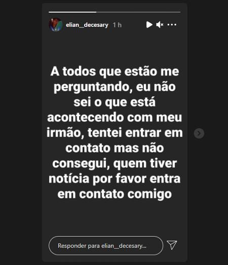Irmão de Livinho - Reprodução/Instagram - Reprodução/Instagram