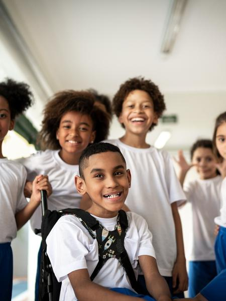 Estudantes de ensino fundamental - FG Trade/Getty Images