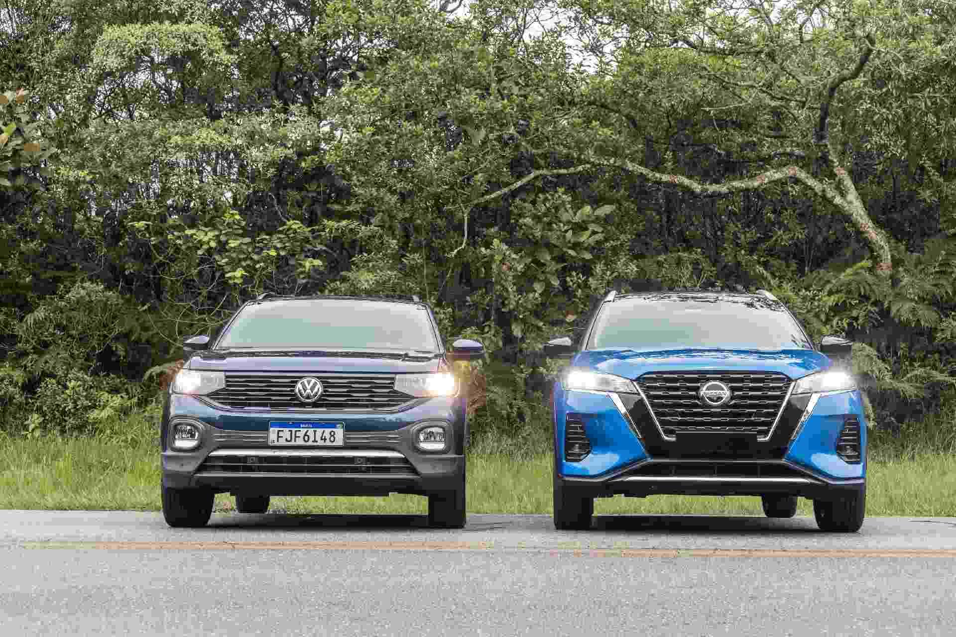 Volkswagen T-Cross x Nissan Kicks - Simon Plestenjak/UOL