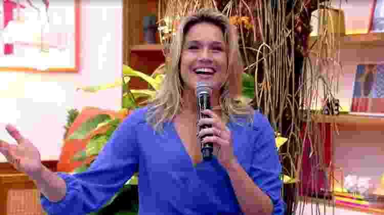Fernanda Gentil - Reprodução / TV - Reprodução / TV