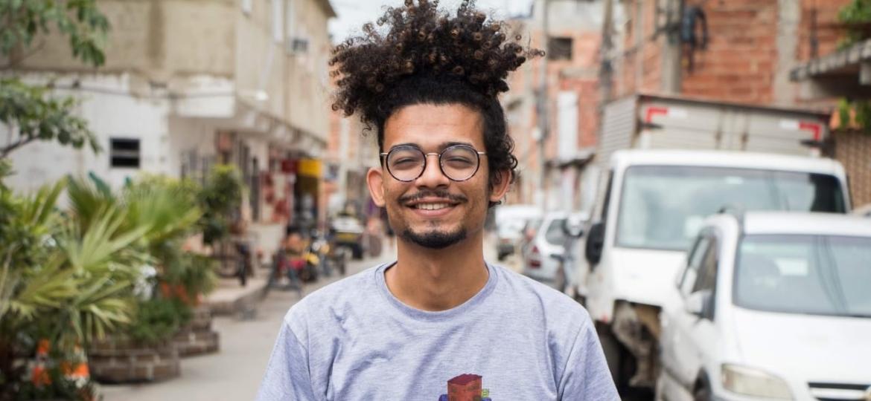 Laerte Breno, 25, educador popular, criador da UniFavela - Arquivo Pessoal