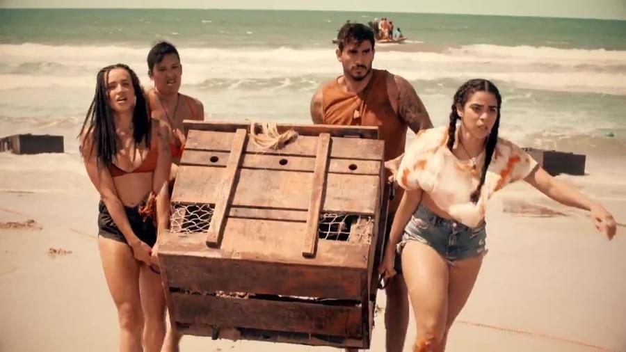 """Globo mostra primeiras imagens da temporada de """"No Limite"""" - Reprodução/TV Globo"""