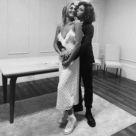 Sasha anuncia que casou com João Figueiredo - Reprodução/Instagram