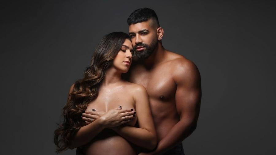 Dilsinho e a mulher, Beatriz Ferraz - Reprodução Instagram/ Lari Souza