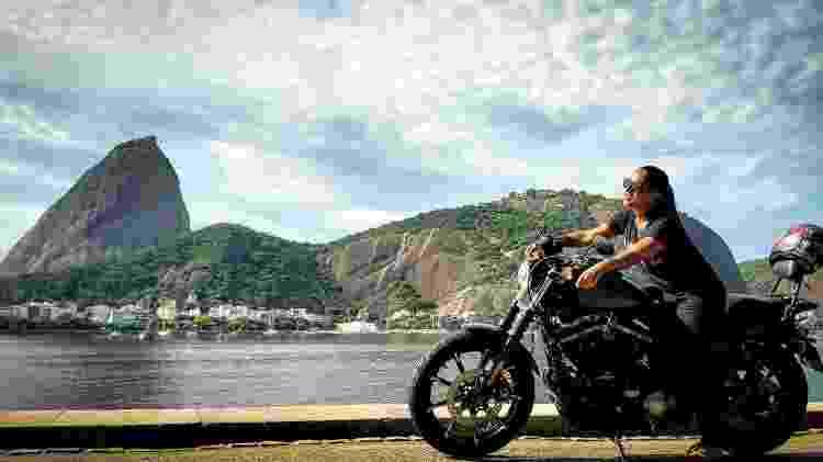 Vanessa Santiago é motociclista  - Bernardo Santos Mauro - Bernardo Santos Mauro