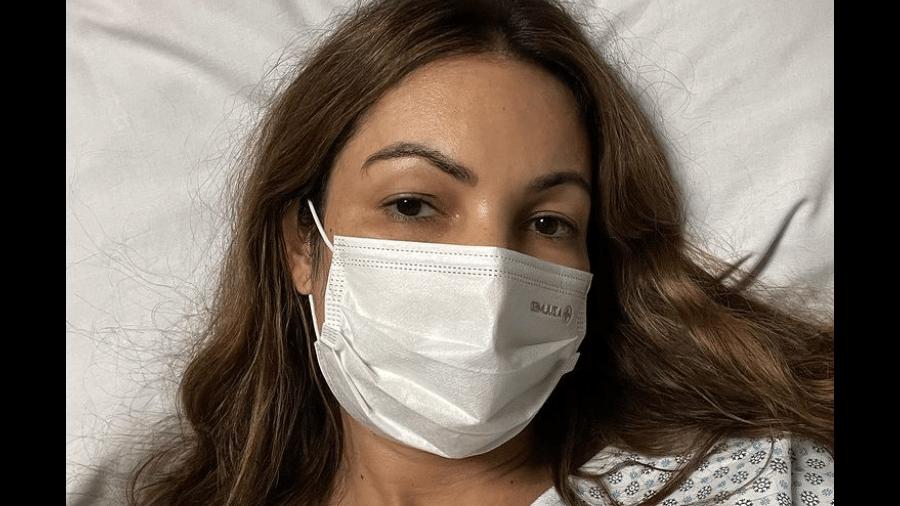 A apresentadora Patrícia Poeta revelou que precisou fazer uma cirurgia de emergência nas amígdalas - Reprodução Instagram