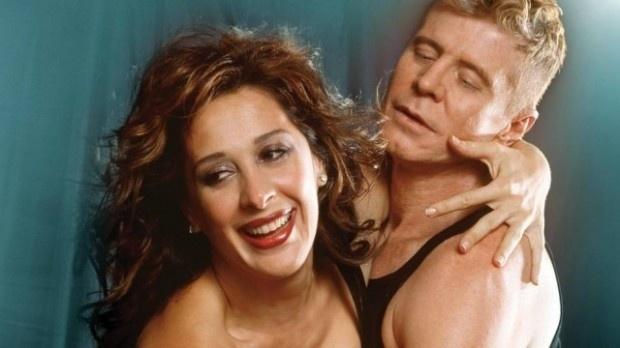 Claudia Raia e Miguel Falabella, em imagem de divulgação da peça ?Batalha de Arroz em um Ringue Para Dois
