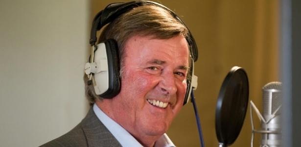 O apresentador irlandês Terry Wogan, que trabalhou na BBC - Getty