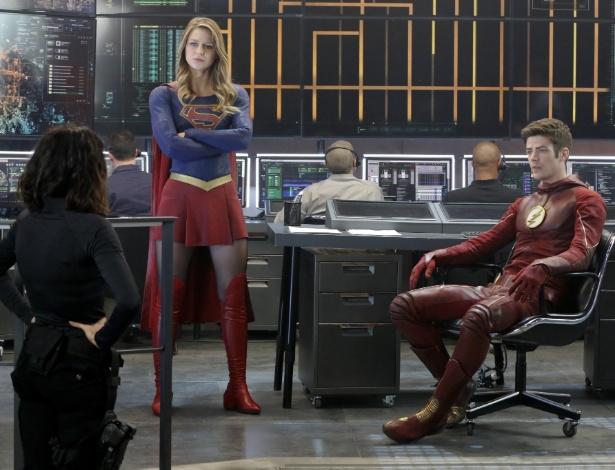 """Supergirl e Flash se encontram em episódio de """"Supergirl"""" - Divulgação"""