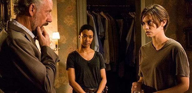 """Episódio de """"The Walking Dead"""" mostra Maggie enfrentando Gregory, líder de Hiltop - Reprodução/Fox"""