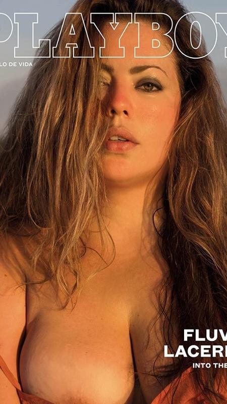 """Capa da """"Playboy"""" com a modelo Fluvia Lacerda - Divulgação/Playboy"""