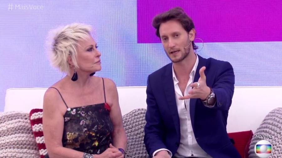 Ana Maria Braga se impressiona com habilidades do mentalista israelense Lior Suchard - Reprodução/TV Globo