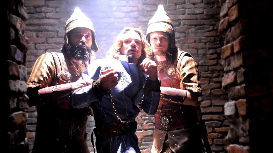 """Cena de """"O Rico e Lázaro"""", que estreou na semana passada na Record TV - Munir Chatack/RecordTV"""