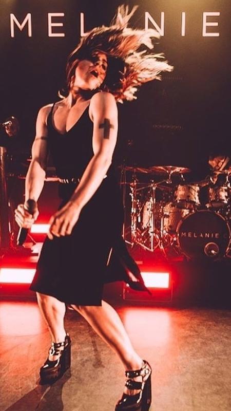 A cantora Melanie C, ex-Spice Girls, se apresenta em carreira solo - Reprodução/Instagram/melaniecmusic