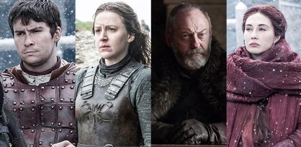 """Os atores """"Game of Thrones"""" se policiam para não entregar as revelações da série"""