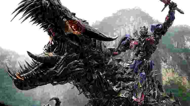 """Cena de """"Transformers: A Era da Extinção"""" (2014) - Reprodução - Reprodução"""