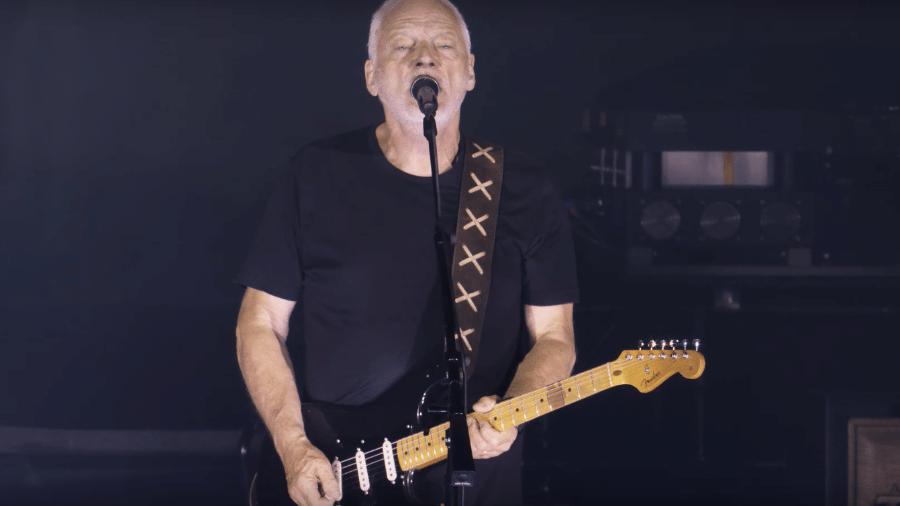 David Gilmour se apresenta em Pompeia, na Itália - Reprodução