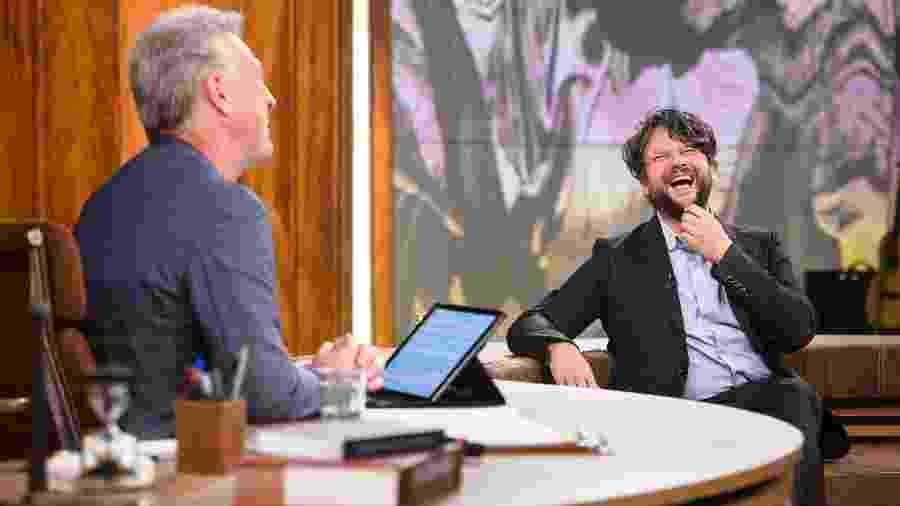"""Selton Mello brinca sobre paternidade no """"Conversa com Bial"""" - Ramon Vasconcelos/TV Globo"""
