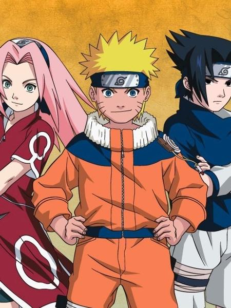 Personagens do anime Naruto - Divulgação/Toei Animation