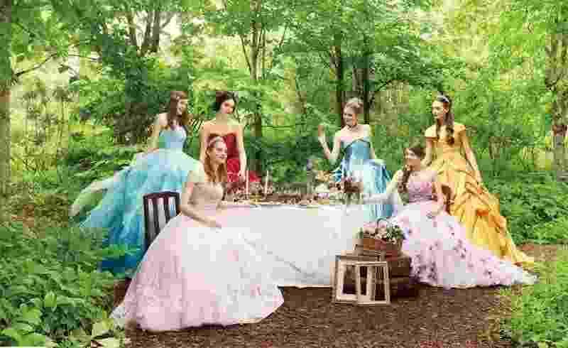 Vestidos de noiva das Princesas Disney - Divulgação