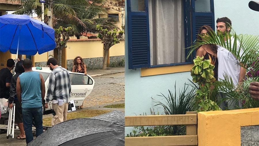 """Juliana Paes e Emílio Dantas gravam cenas de """"A Força do Querer"""" em Cabo Frio - Divulgação"""